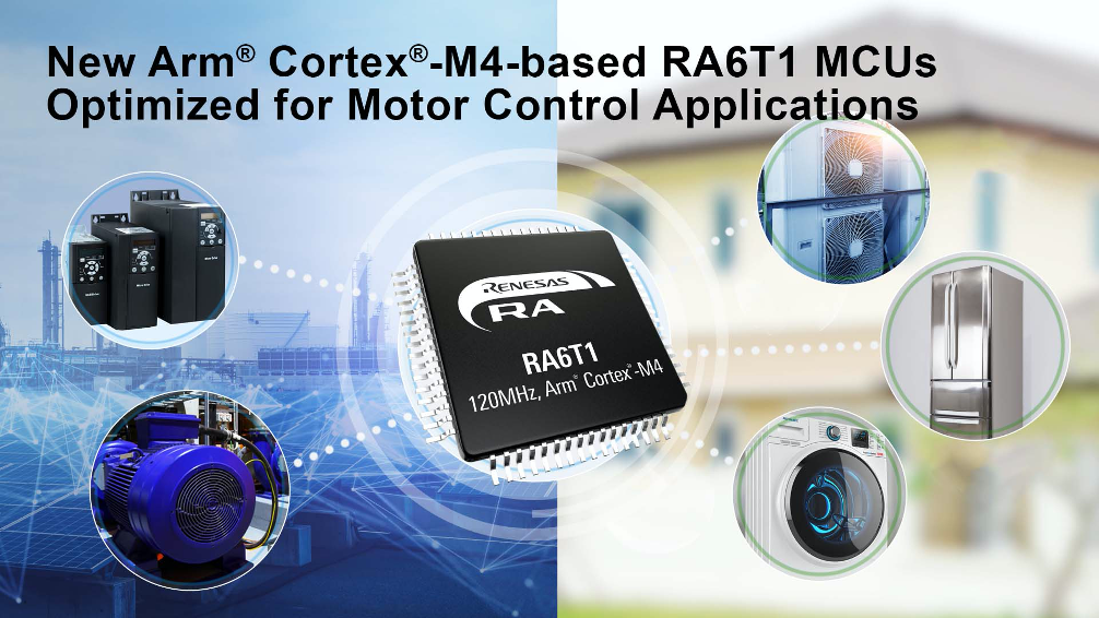 RA6T1 MCU Group for Motor Control
